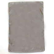 "Plastic bag high density 6.5""x9.5"" .6 mil - silver 1m/box"