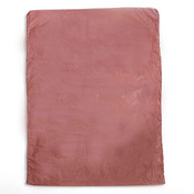 "Plastic bag high density 8.5""x11"" .65 mil - burgundy 1m/box"