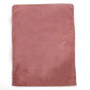 "Plastic bag high density 8.5""x11"" .65 mil - burgundy 1m/box"