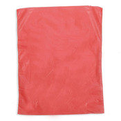 "Plastic bag high density 8.5""x11"" .65 mil - red 1m/box"