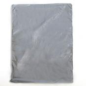 "Plastic bag high density 8.5""x11"" .65 mil - silver 1m/box"