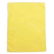 "Plastic bag high density 8.5""x11"" .65 mil - yellow 1m/box"