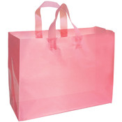 Frosted Bag - Pink 16x6x12