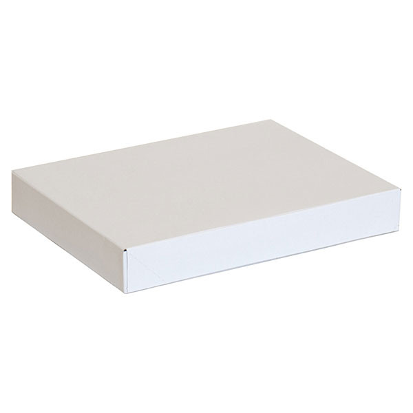 "Garment box 11.5""x8.5""x1"" - white 100/box"