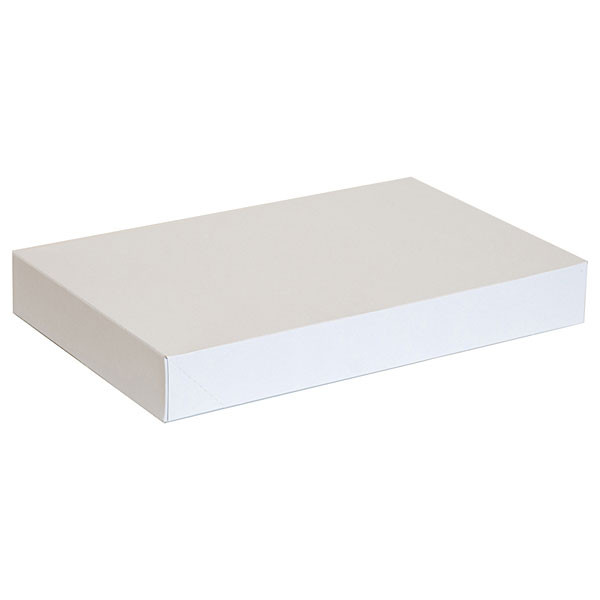 "Garment box 15""x9.5""x2"" - white 100/box"