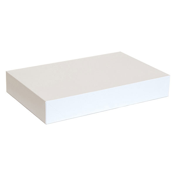 "Garment box 17""x11""x2.5"" - white 50/box"