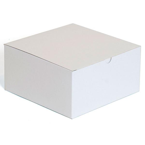 """Gift box 6""""x6""""x4"""" - white 100/case"""