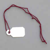 "Jewelry tag with silk string 3/8""x13/16"" 1000/pack"
