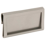 Metal Hanging Ticket Holder - Silver