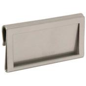 Metal Hanging Ticket Holder - Silver