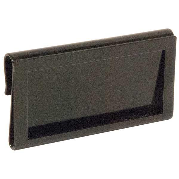 Metal Hanging Ticket Holder - Black
