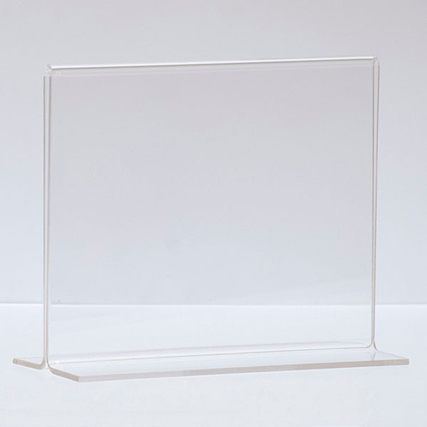 """Bottom load acrylic sign holder counter top - 7""""w x 5-1/2""""h"""