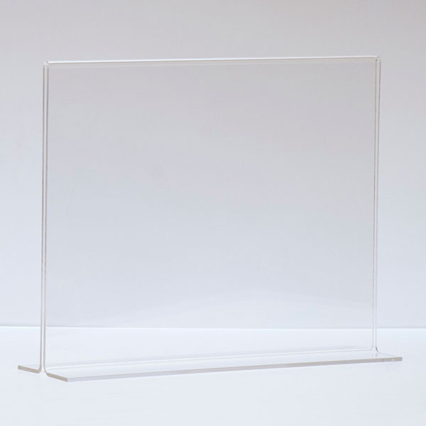 """Bottom load acrylic sign holder counter top - 11""""w x 8-1/2""""h"""