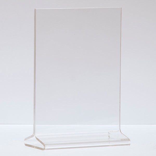 """Top load acrylic sign holder 5-1/2""""w x 7""""h"""