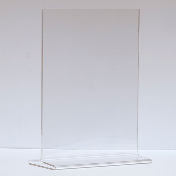 """Top load acrylic sign holder 11""""w x 14""""h"""