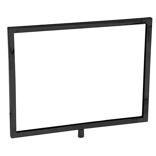 Mitered sign holder - Black 11w x 8-1/2h