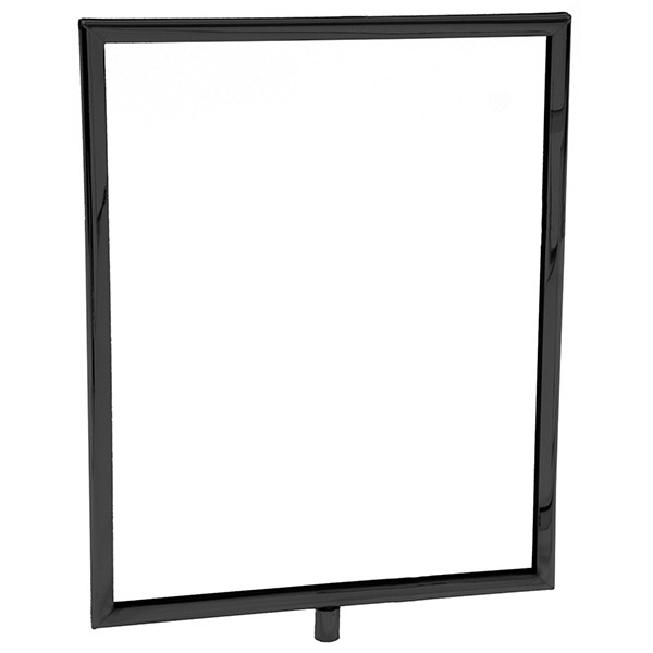 Mitered sign holder - Black 8-1/2h x 11w