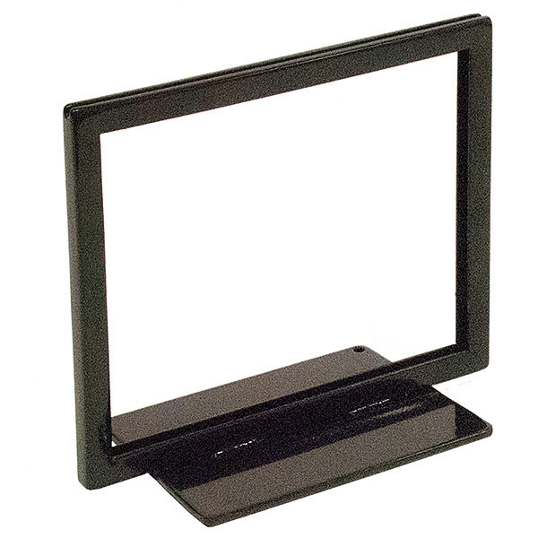 Flat Base sign holder 7w x 5-1/2h