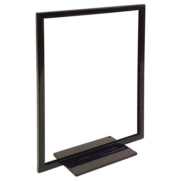 Flat Base sign holder 8.5w x 11h