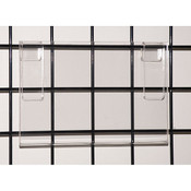 "Acrylic grid sign holder 11""w x 7""h x 1/8""t"