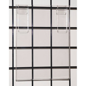 "Acrylic grid sign holder 8-1/2""w x 11""h x 1/8""t"