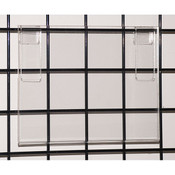 "Acrylic grid sign holder 11""w x 8-1/2""h x 1/8""t"