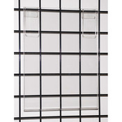"Acrylic grid sign holder 11""w x 14""h x 1/8""t"
