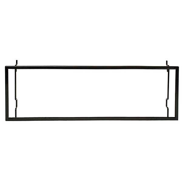 Metal Frame Sign Holder - Black - Universal 22 x 7