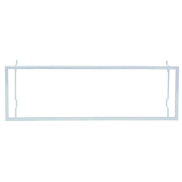 Metal Frame Sign Holder - White - Universal 22 x 7