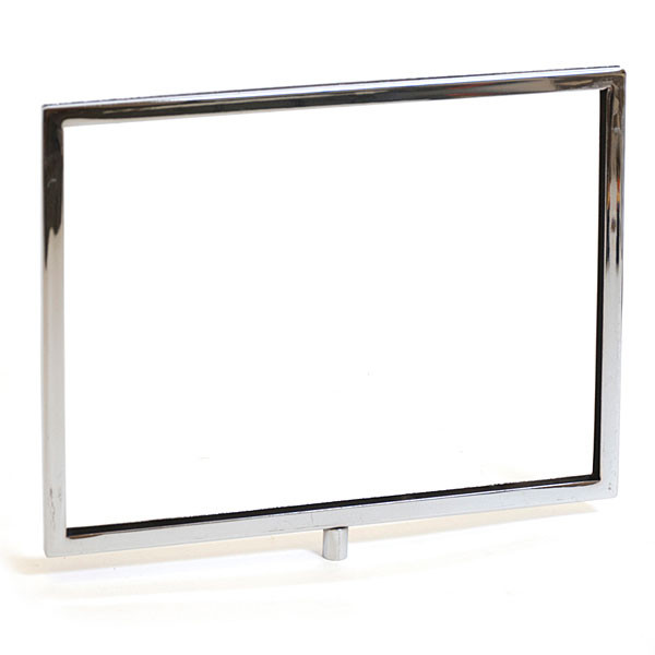"Sign frame 11""w x 8-1/2""h mitered corners - chrome"
