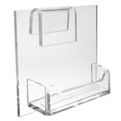 Gridwall Plex Business Card Holder single