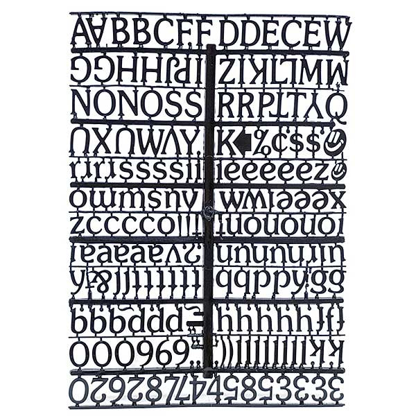 Replacement Letters for 12207, 12204, 12201-B