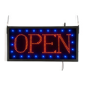 Rectangular LED Open sign