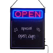 Menu board style LED Open sign