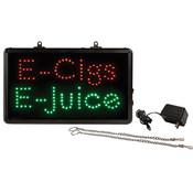 LED Sign for E-Cig and E-Juice