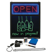 LED Menu Board w/Open Sign and Remote