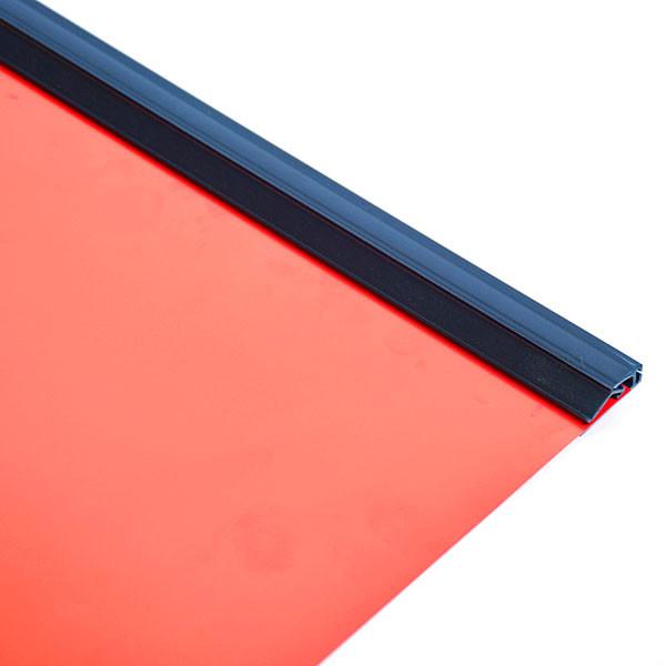 "Snap grip banner hangers 48"" wide black"