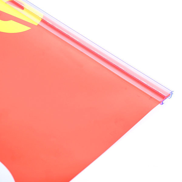 """Snap grip banner hangers 48"""" wide clear"""