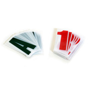 """Replacement letters for outdoor sign 4"""" letters numbers characters - 168 pieces"""