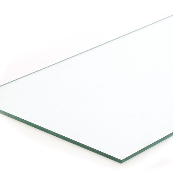"Plate glass shelf 10""x36""x1/4"""