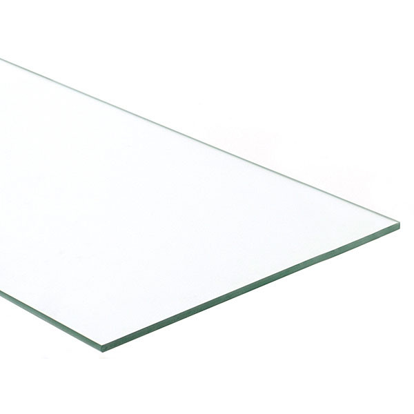 Plate glass shelf 10 x 24