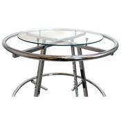 "Round plate glass shelf 30"" diameter x 1/4"