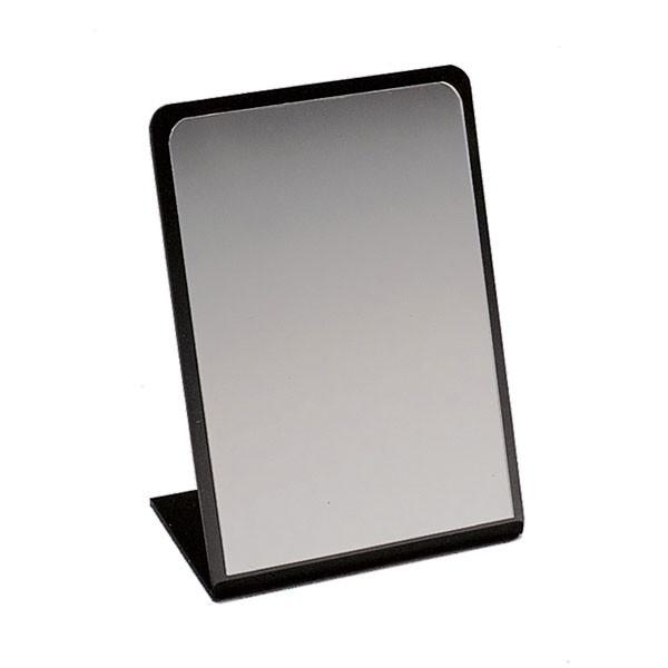 "Counter top mirror 9""x12"" - black"