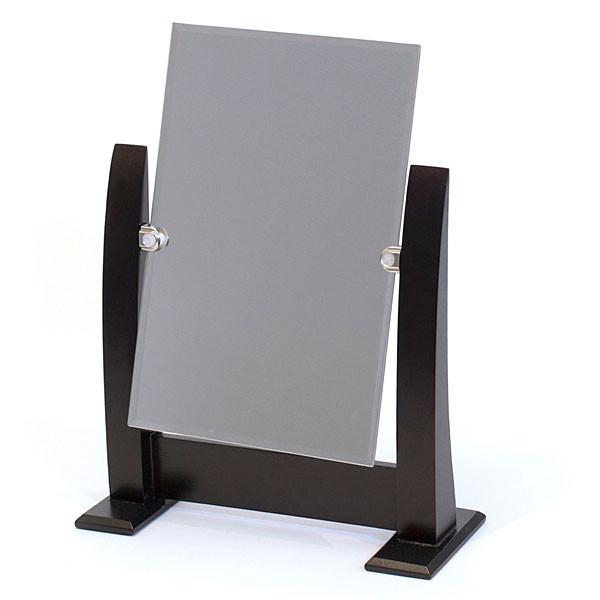 """Mirror Counter Top Dark Walnut 10.5""""W X 14.5""""H"""