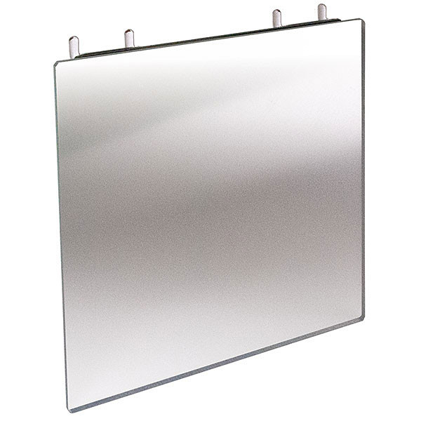 Acrylic Mirror for Slatwall and Pegboard