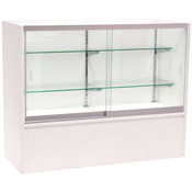 Front Open Showcase 48 inch - White w/light
