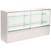 Front Open Showcase 70 inch - White w/light
