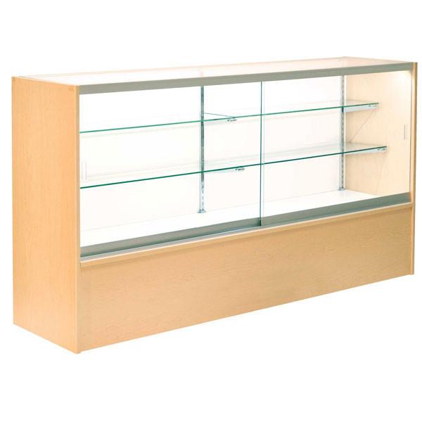 Front Open Showcase 70 inch - Maple w/light