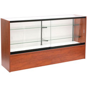 Front Open Showcase 70 inch - Cherry