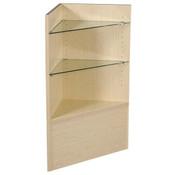 Open corner filler - maple